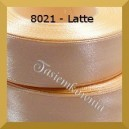 Tasiemka satynowa 6mm kolor 8021/latte/ 20szt.