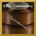 Tasiemka satynowa 25mm kolor 8135 czekoladowy/ 6szt.