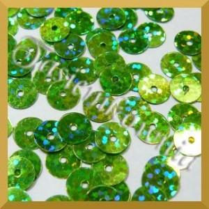 Cekiny laserowe zielone