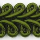 Taśma pleciony wężyk oliwka 1mb