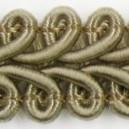 Taśma pleciony wężyk złota 1mb
