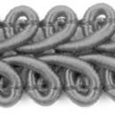 Taśma pleciony wężyk srebrna 1mb