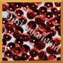 Cekiny kółka łamane 8mm 17g czerwone metaliczne - c14