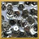 Cekiny 8mm - 12g srebrne metaliczne