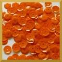 Cekiny 8mm - 12g pomarańczowe matowe