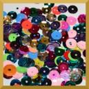 Cekiny 6mm mix kolorów 5g