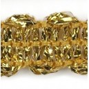 Taśma dekoracyjna złota TWB-8 1mb