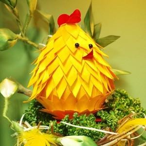 Kurczak Wielkanocny 12 Cm Tasiemkownia