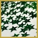 Cekiny gwiazdki zielone metaliczne