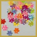 Cekiny kwiatuszki mix kolorów opalizujące