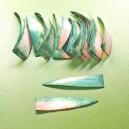 Paski klinowe zielone 014 - 50szt - większe