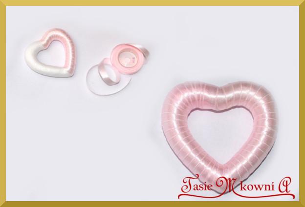 Krok 2 jak zrobić dekoracyjne serce