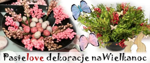 Susz naturalny pastelowy w odcieniach różowych