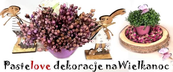 Susz naturalny paletowych w odcieniach fioletu