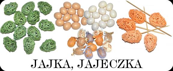 Jajeczka do wianków stroików